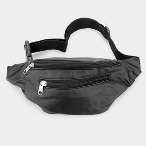Handbags - Solid Simple Fanny Pack